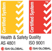 Sai Global Symbols - AS 4801 & ISO 9001